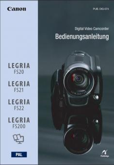 Camcorder FS20/FS21/FS22/FS200 Benutzerhandbuch