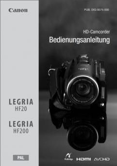 HF20/HF200 Benutzerhandbuch