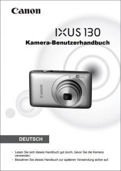 IXUS 130 Benutzerhandbuch