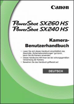 PowerShot SX260 HS/SX240 HS Benutzerhandbuch