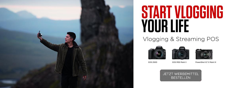 Vlogging Banner